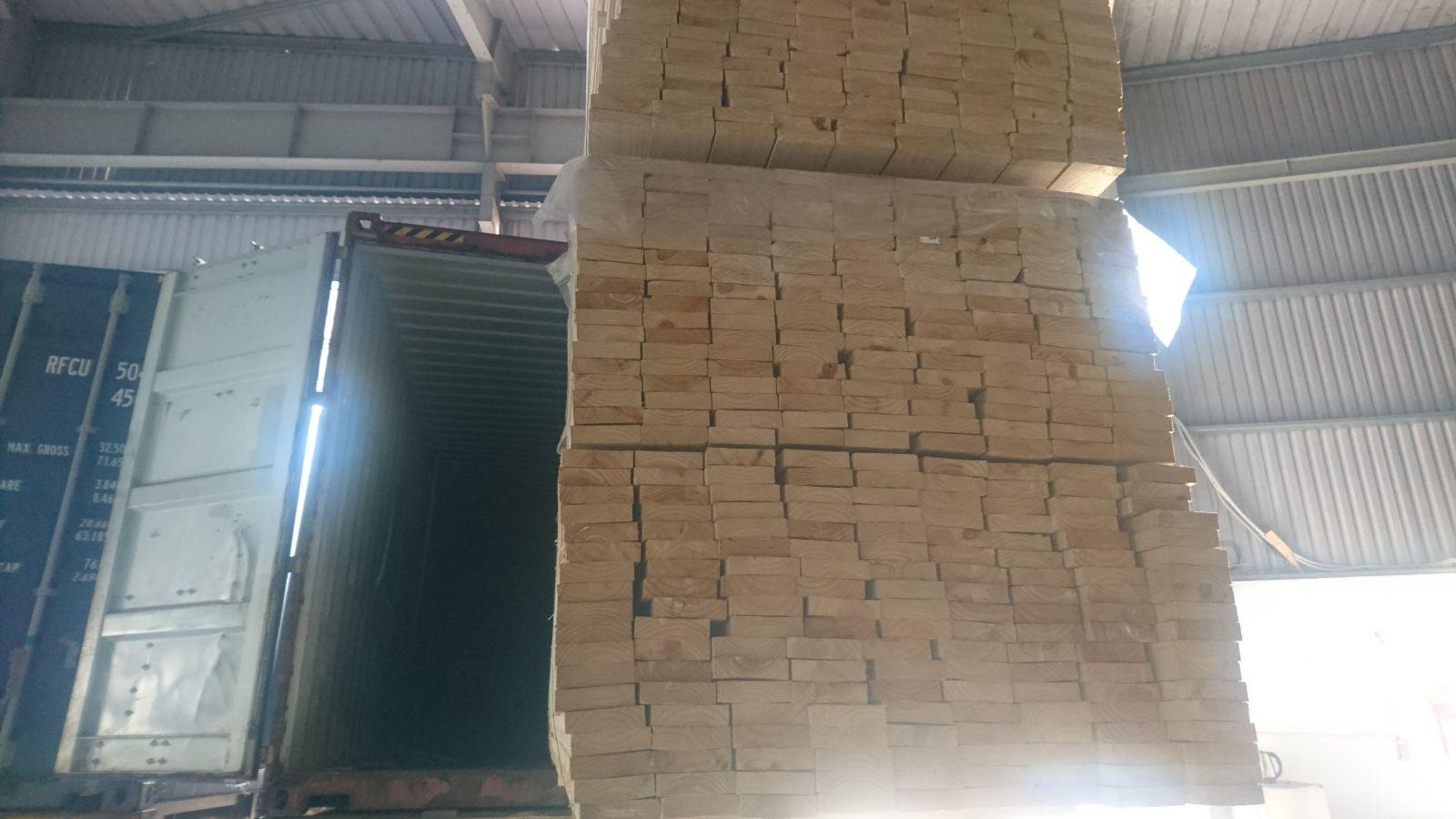 Gỗ thông Chile xẻ sấy nhập khẩu - Gỗ Phúc Tường - 18