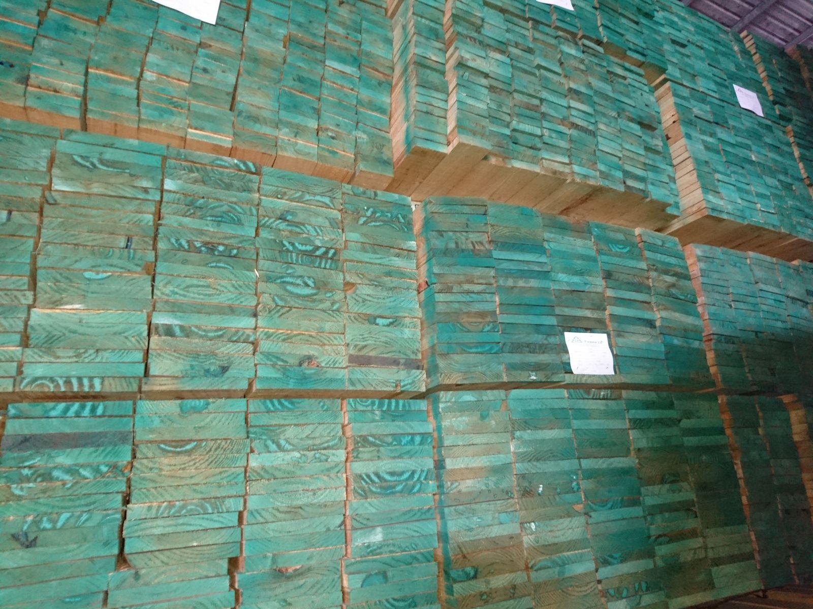 Gỗ thông Chile xẻ sấy nhập khẩu - Gỗ Phúc Tường - 17